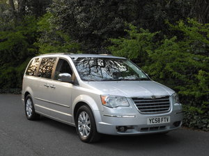 2009 Chrysler Grand Voyager 2.8 CRD Limited Auto Huge Spec SOLD