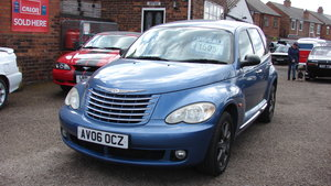 PT Cruiser retro ride with new car drive