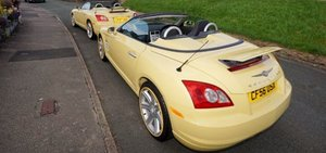 Chrysler Crossfire in Yellow