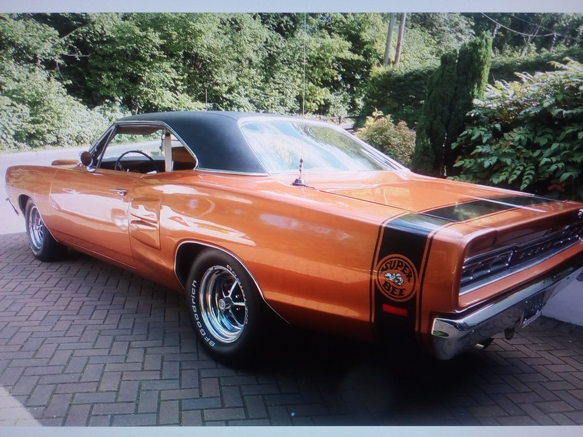 DODGE  CORONET SUPERBEE 1969 SOLD (picture 1 of 6)