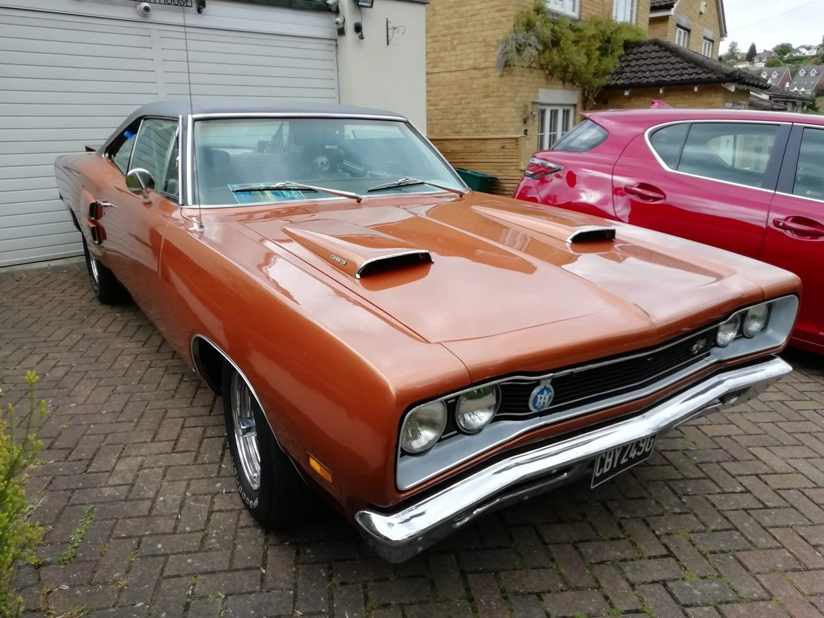 DODGE  CORONET SUPERBEE 1969 SOLD (picture 3 of 6)