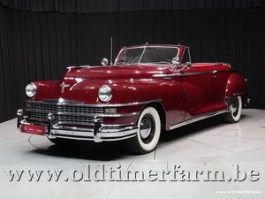 1949 Chrysler New Yorker Convertible '49
