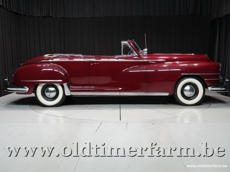 1949 Chrysler New Yorker Convertible '49 For Sale (picture 3 of 6)
