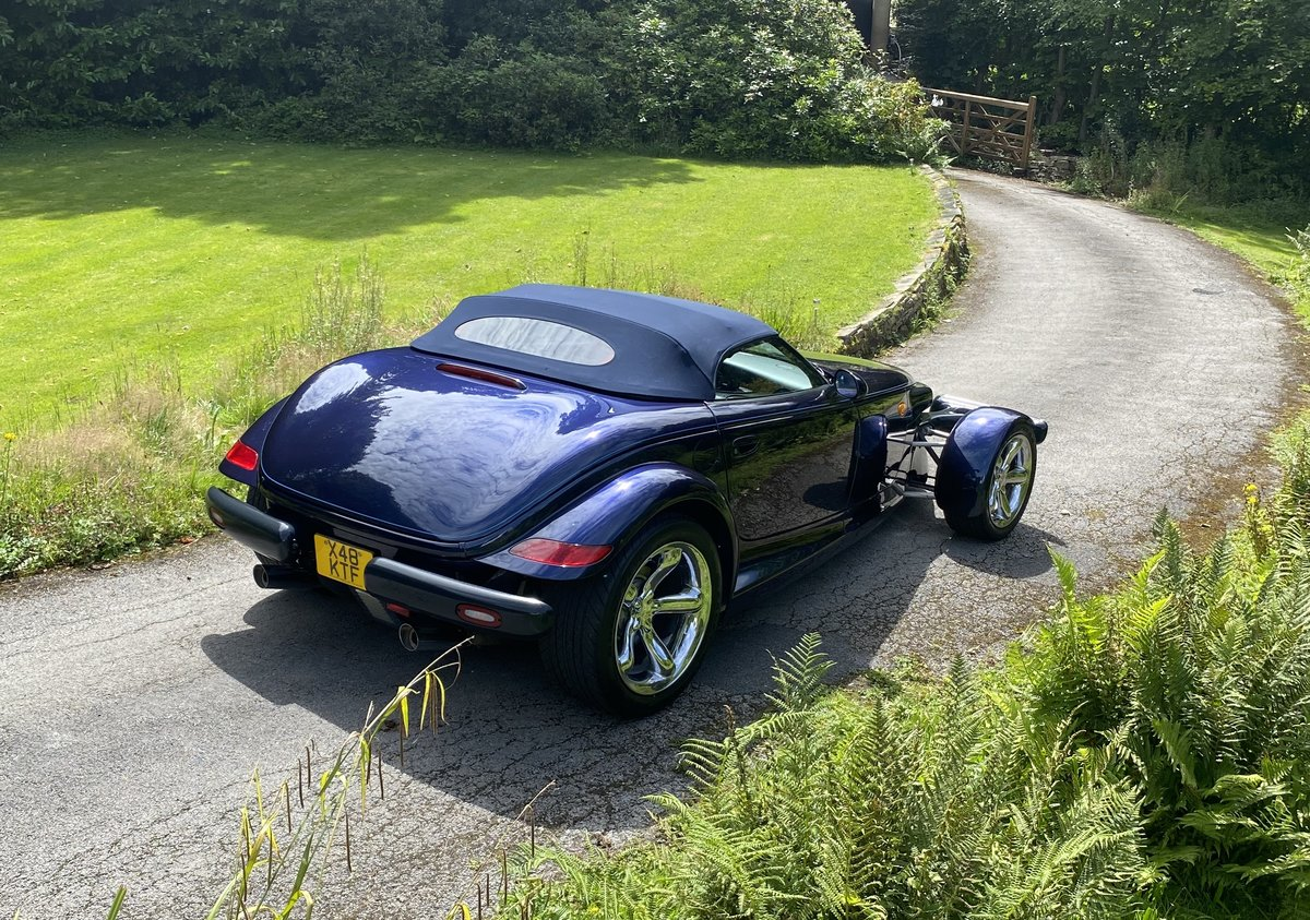 2001 CHRYSLER PROWLER - HIGHLY DESIRABLE FINAL EDITION SOLD (picture 2 of 6)