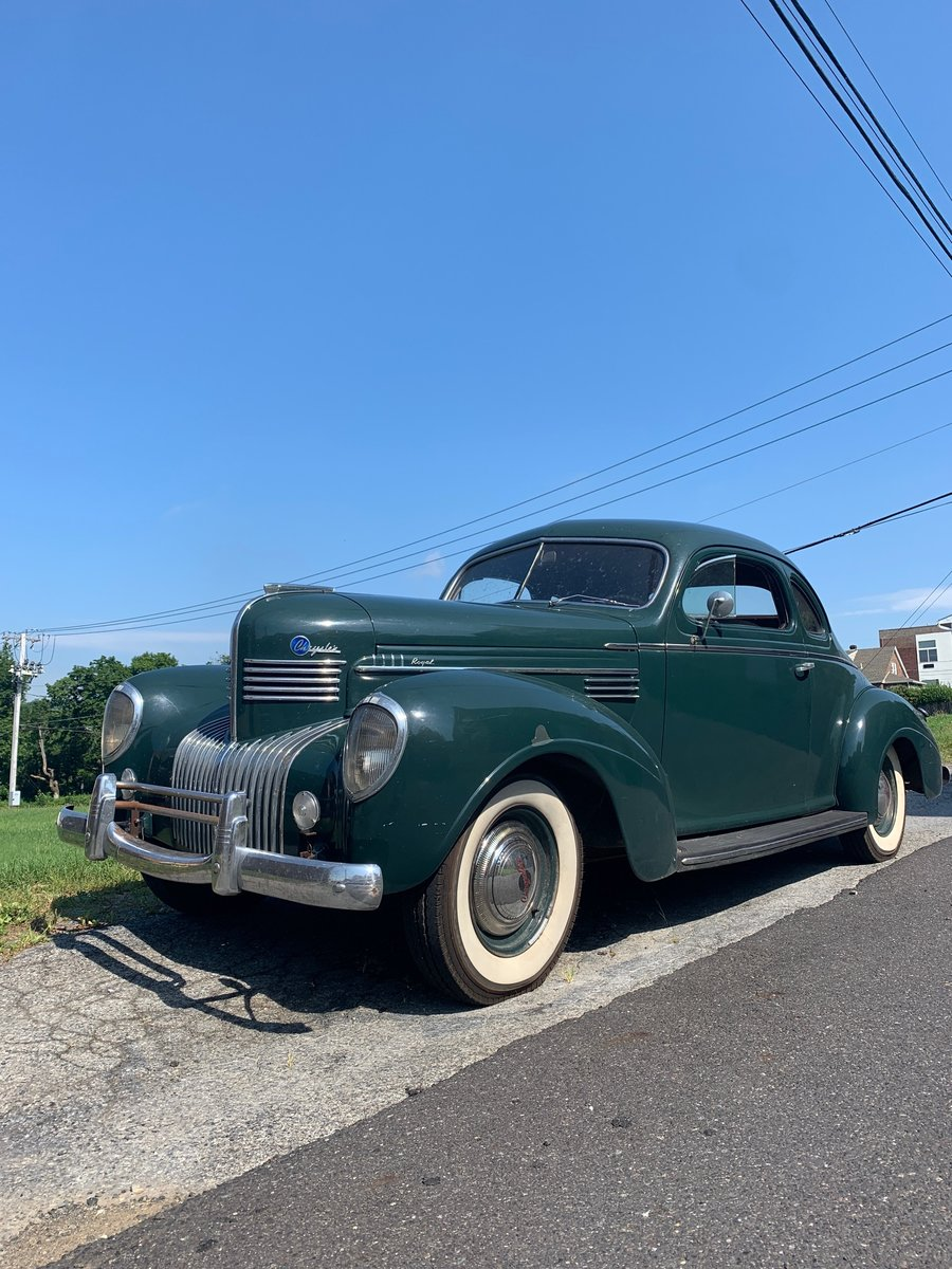 1939 Chrysler royal business coupe For Sale (picture 1 of 6)