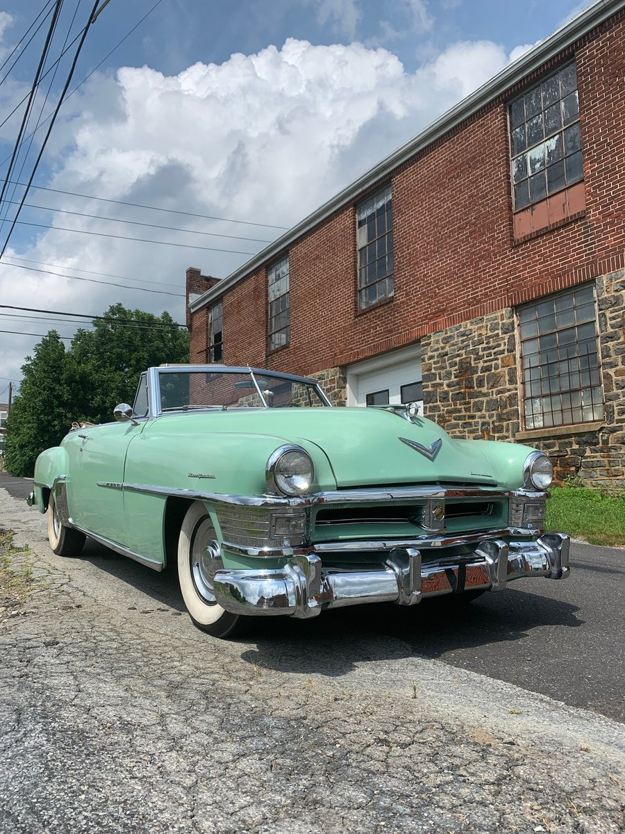 1952 Chrysler New Yorker convertible For Sale (picture 1 of 6)
