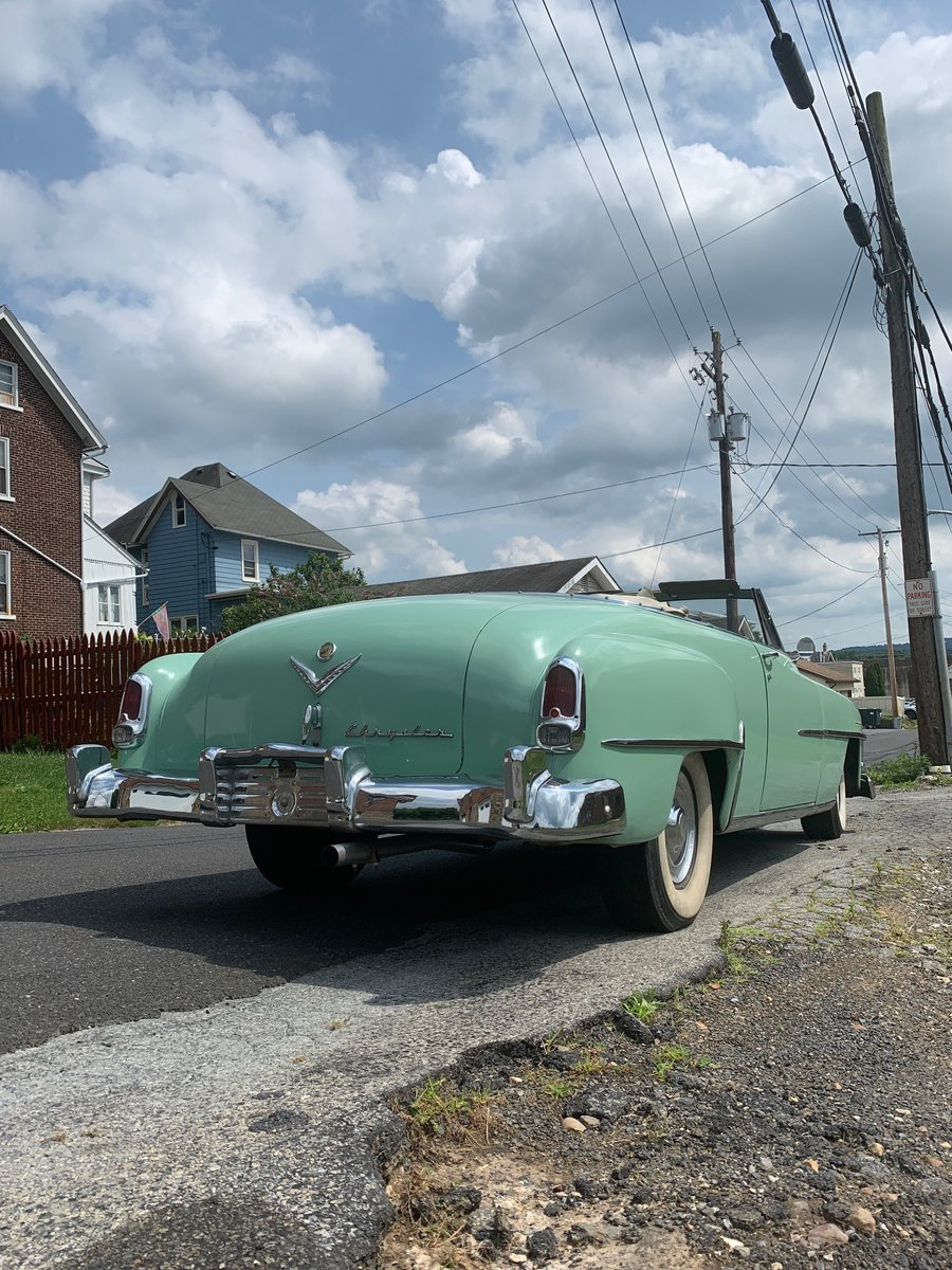 1952 Chrysler New Yorker convertible For Sale (picture 2 of 6)