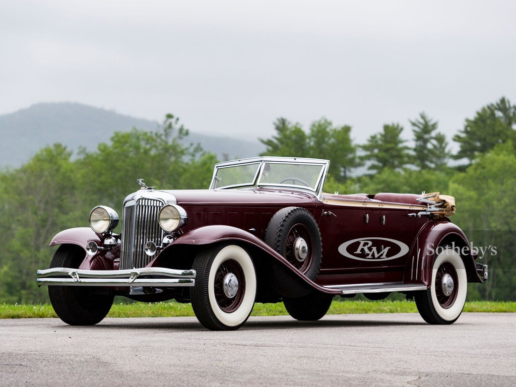 1932 Chrysler CL Imperial Dual-Windshield Phaeton by LeBaron For Sale by Auction (picture 1 of 6)