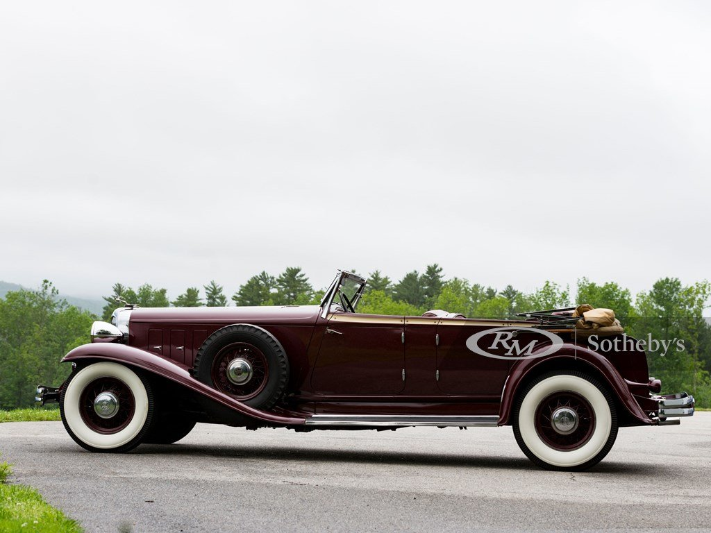 1932 Chrysler CL Imperial Dual-Windshield Phaeton by LeBaron For Sale by Auction (picture 6 of 6)
