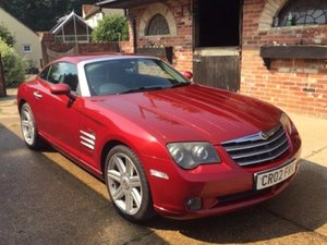 2004 Chrysler Crossfire at ACA 22nd August  For Sale