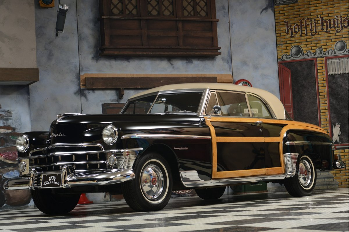 1950 Chrysler Town & Country Newport Hardtop Coupe For Sale (picture 1 of 6)