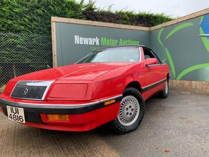 1989 Ist October Auction entry - physical sale! Chrysler LeBaron