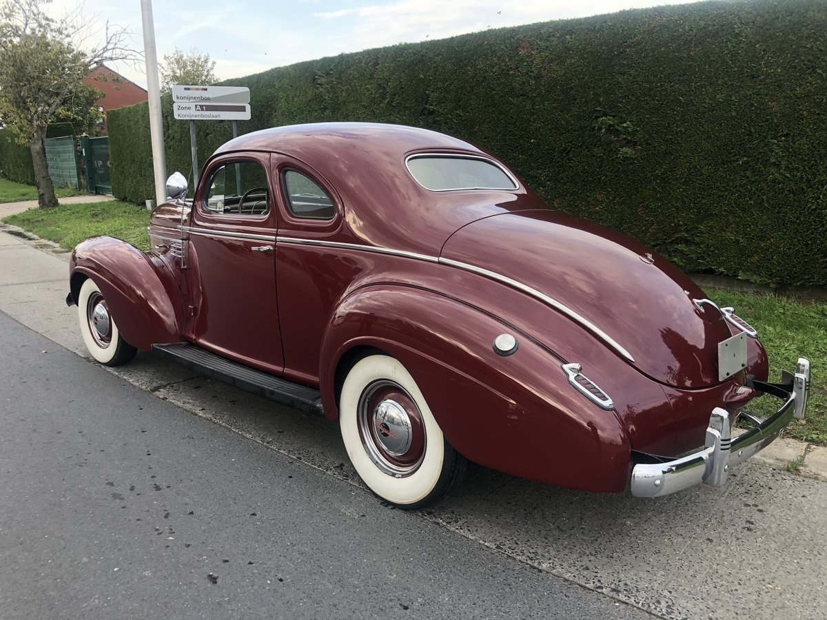 1939 Chrysler business coupe For Sale (picture 3 of 6)