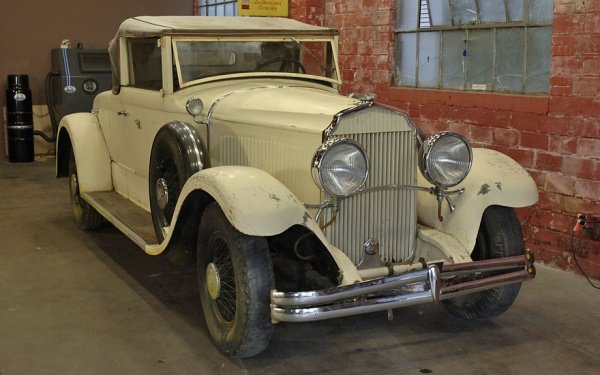 1930 Chrysler Imperial Dual Sidemount/Rumble Seat Convert For Sale (picture 1 of 5)