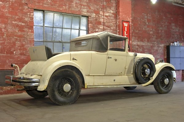 1930 Chrysler Imperial Dual Sidemount/Rumble Seat Convert For Sale (picture 5 of 5)