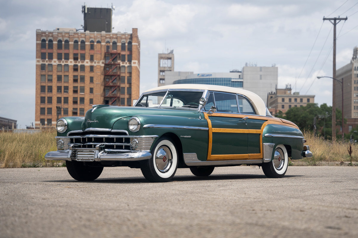 1950 Chrysler Town and Country Newport Coupe For Sale (picture 1 of 6)