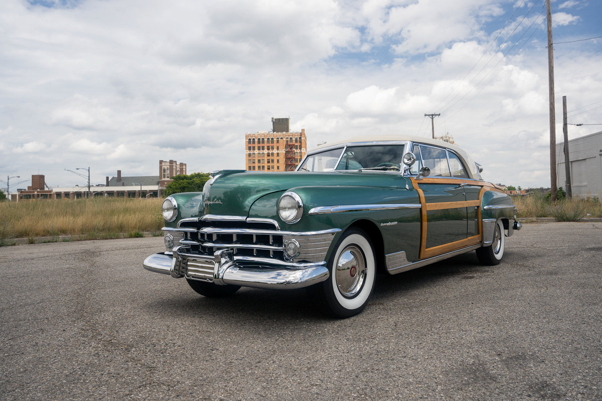1950 Chrysler Town and Country Newport Coupe For Sale (picture 2 of 6)