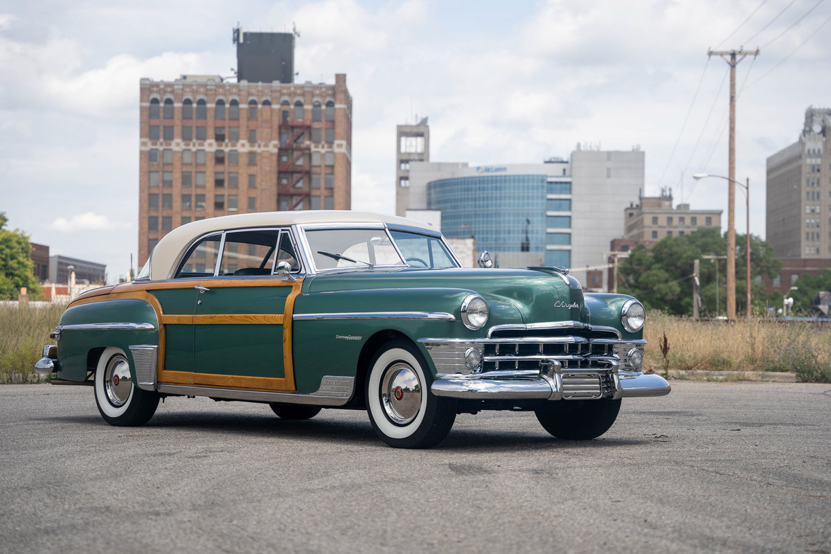 1950 Chrysler Town and Country Newport Coupe For Sale (picture 3 of 6)