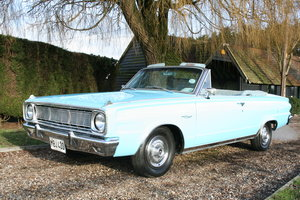 Picture of 1966 Plymouth Chrysler Valiant Signet Convertible RHD UK Car.
