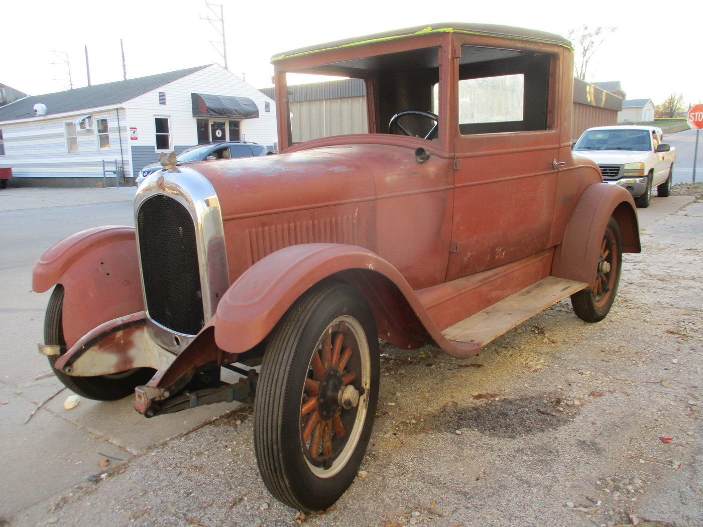 1927 Chrysler 3 Window Coupe For Sale (picture 1 of 12)