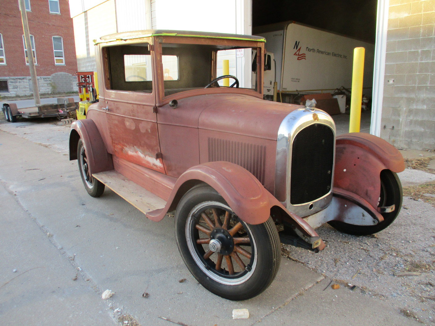 1927 Chrysler 3 Window Coupe For Sale (picture 2 of 12)
