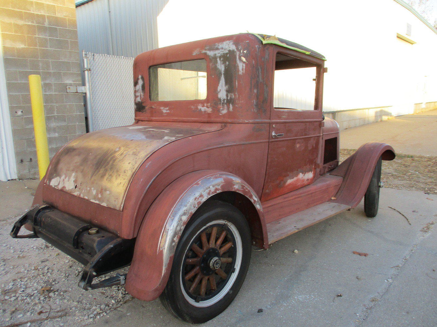 1927 Chrysler 3 Window Coupe For Sale (picture 12 of 12)