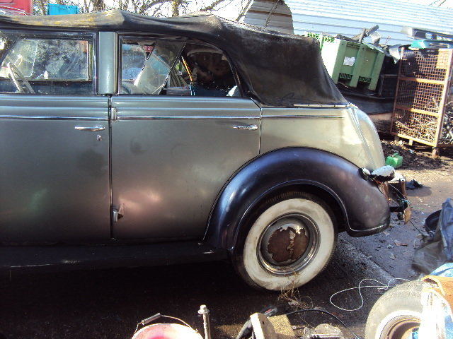 1938 CHRYSLER royal CONVERT BARN FIND  VERY SOLID RHD RUNS WELL For Sale (picture 10 of 12)