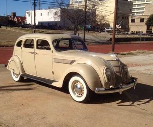 1935 Chrysler Airflow 4DR Sedan For Sale (picture 1 of 6)