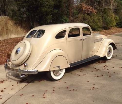 1935 Chrysler Airflow 4DR Sedan For Sale (picture 4 of 6)
