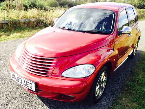 2003 PT CRUISER CRD 2.2 DIESEL TOURING 63,000 miles FSH SOLD (picture 2 of 6)