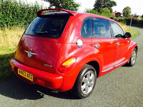 2003 PT CRUISER CRD 2.2 DIESEL TOURING 63,000 miles FSH SOLD (picture 3 of 6)