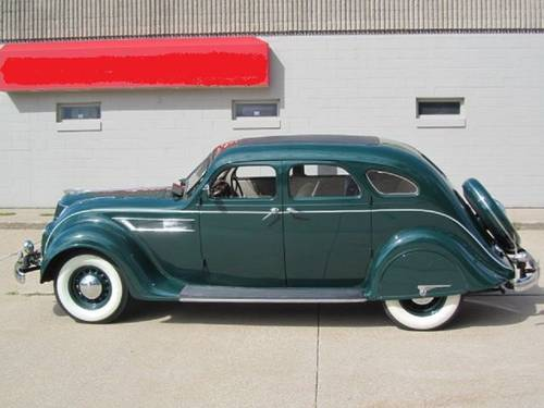 1935 Chrysler Air Flow 4DR Sedan For Sale (picture 2 of 6)