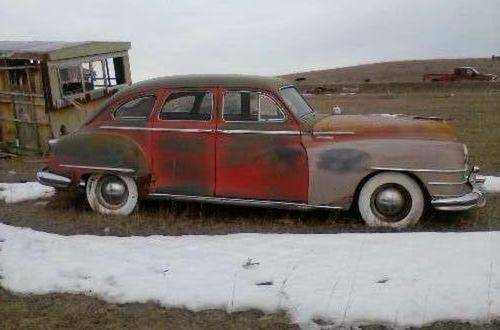 1949 Chrysler Windsor Royal 4DR Sedan For Sale (picture 1 of 6)