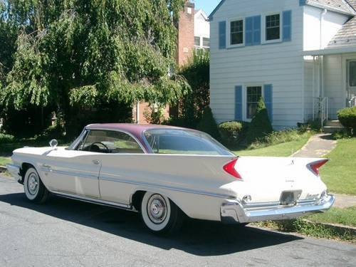 1960 Chrysler Saratoga 2DR HT For Sale (picture 2 of 6)