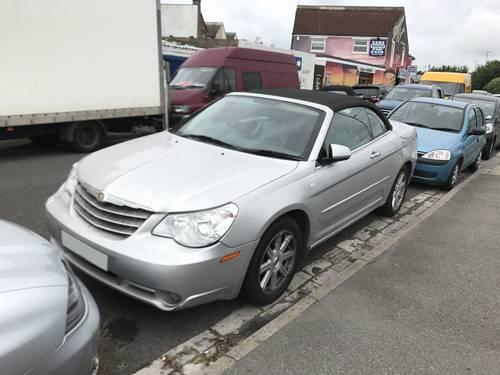 Chrysler Sebring Limited 2.8 V6 2009 Plate For Sale (picture 1 of 3)