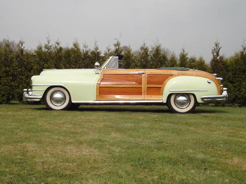 Chrysler New Yorker, Town and Country, lhd, 1948 For Sale (picture 1 of 6)