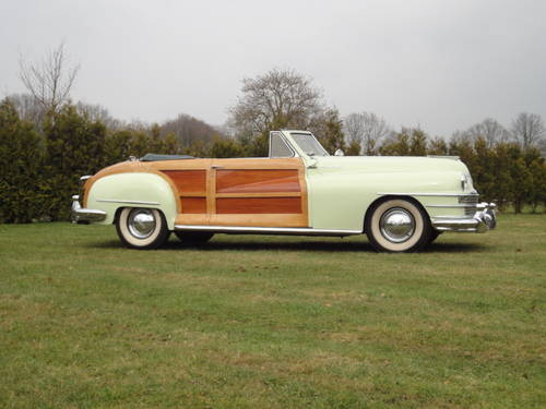 Chrysler New Yorker, Town and Country, lhd, 1948 For Sale (picture 4 of 6)