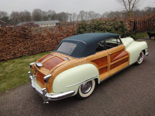 Chrysler New Yorker, Town and Country, lhd, 1948 For Sale (picture 5 of 6)