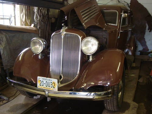 1934 Chrysler CA 4DR Sedan For Sale (picture 1 of 6)