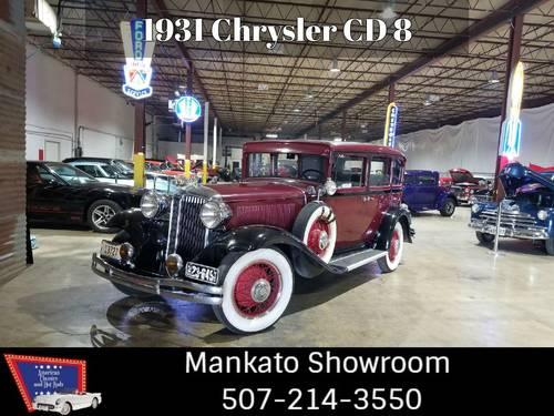 1931 Chrysler C D 8 Sedan  For Sale (picture 1 of 6)