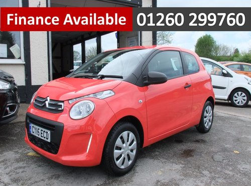 2015 CITROEN C1 1.0 TOUCH 3DR SOLD (picture 1 of 6)
