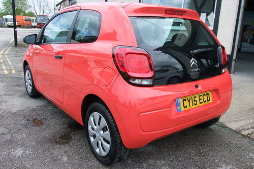 2015 CITROEN C1 1.0 TOUCH 3DR SOLD (picture 3 of 6)
