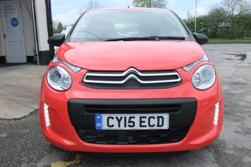 2015 CITROEN C1 1.0 TOUCH 3DR SOLD (picture 4 of 6)