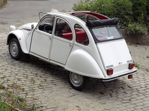 1987 CITROEN 2CV6 - LHD  SOLD (picture 2 of 6)