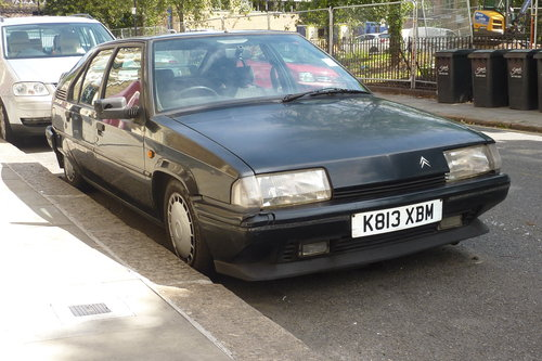 1992 Citroen BX17 TZD, Turbo-Diesel, needs some work For Sale (picture 1 of 6)