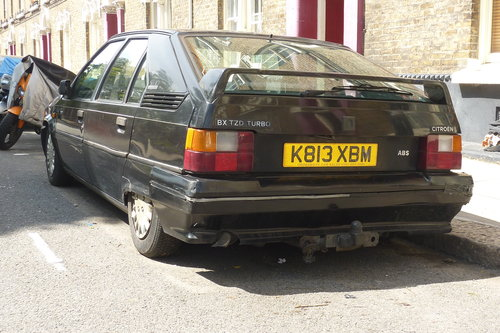 1992 Citroen BX17 TZD, Turbo-Diesel, needs some work For Sale (picture 3 of 6)