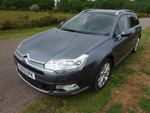 2009 (59) CITROEN C5 3.0HDi V6 AUTO,EXCLUSIVE,LEATHER,SAT NA For Sale (picture 1 of 6)