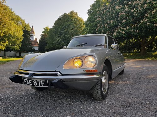1968 CITROEN DS 21 PALLAS - EXCELLENT CONDITION SOLD (picture 1 of 6)