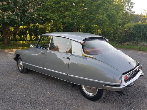 1968 CITROEN DS 21 PALLAS - EXCELLENT CONDITION SOLD (picture 6 of 6)