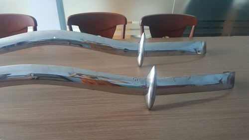 Citroen Traction Avant Stainless Steel Bumper For Sale (picture 3 of 3)